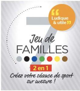 Les nouveautés des Editions Geoffroy : un jeu de 7 familles pour tous.